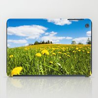 Dandelion field iPad Case