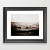 Leave With Me, Across Th… Framed Art Print