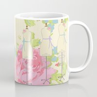 Sewing Room Dress Forms Mug