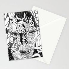 Her Beauty Stationery Cards