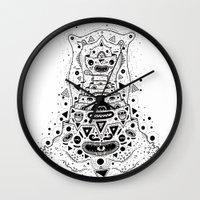 Crab Man Wall Clock