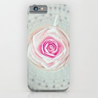 iPhone & iPod Case featuring A Cup Of Rose by JoyHey