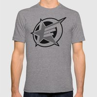 Underground star Mens Fitted Tee Athletic Grey SMALL