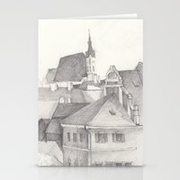 The Magic Town Stationery Cards