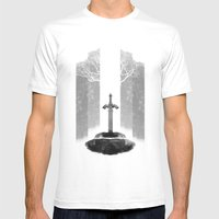 The Legend Of Zelda: The… Mens Fitted Tee White SMALL