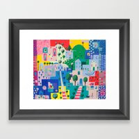 Everyone Has The Story Framed Art Print