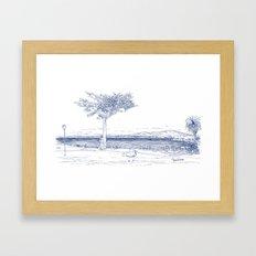 Lovers Point Park Framed Art Print