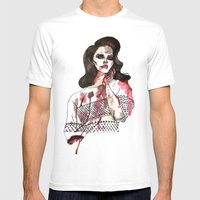 Bloody Lana  Mens Fitted Tee White SMALL