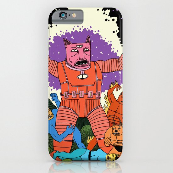 Catastic Four iPhone & iPod Case