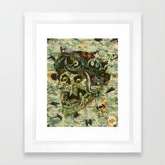 Rebel Rider Framed Art Print