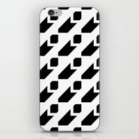 Segbroek Black & White iPhone & iPod Skin