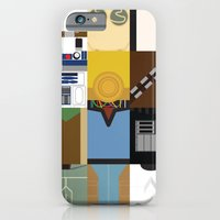 iPhone Cases featuring Star Wars by Adrian Mentus
