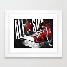 Chucks Poster #1 Framed Art Print