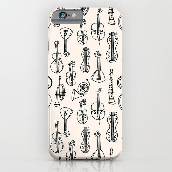 Vintage Instrument Collection  iPhone & iPod Case