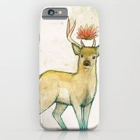 iPhone & iPod Case featuring Deer Universe by Krissy Diggs
