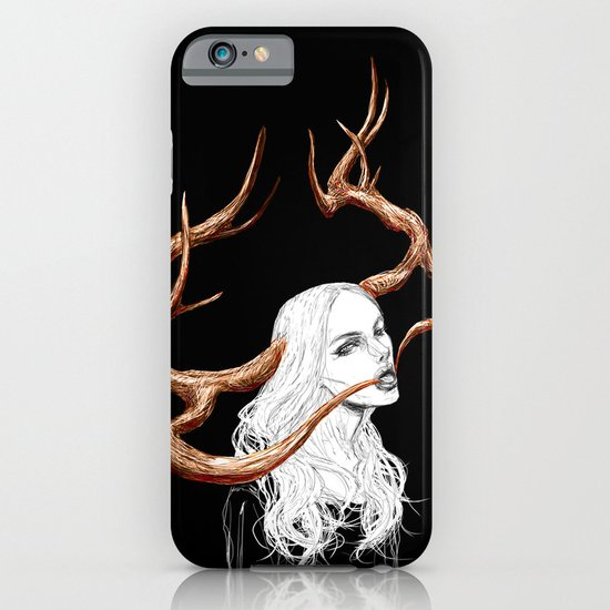 Stag Girl II iPhone & iPod Case