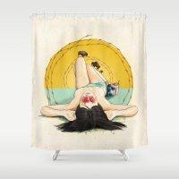 Miss Oklahoma Shower Curtain
