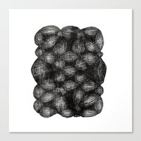 Drawing 5 White Canvas Print