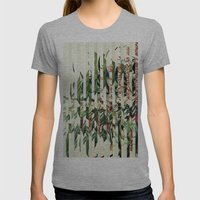 Flowr_04 Womens Fitted Tee Athletic Grey SMALL