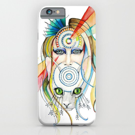 Vision and Silence iPhone & iPod Case