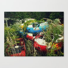 The Abandoned Enchanted Forest Playland Canvas Print