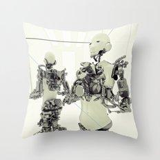 MOTHERFRAME Throw Pillow