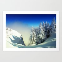 Frozen Top Art Print