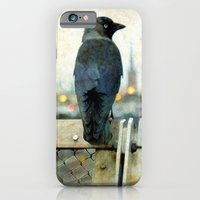 iPhone & iPod Case featuring City bird by Anna Brunk
