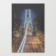 Lions Gate Bridge Canvas Print