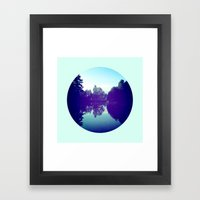 Reflection Framed Art Print
