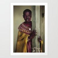 Village Girl Art Print