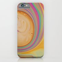 Caramel And Pastel Swirl… iPhone 6 Slim Case