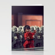 Stationery Cards featuring This Is Thriller by Powerpig