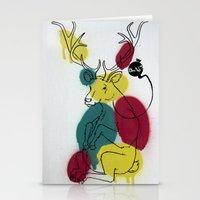 Ciervo Deer Stationery Cards