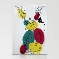 Ciervo Deer Stationery Cards