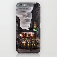 iPhone & iPod Case featuring The Happy Dog and Noodles by ISIK MATER