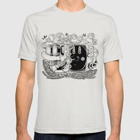 Mantén La Calma Mens Fitted Tee Silver SMALL