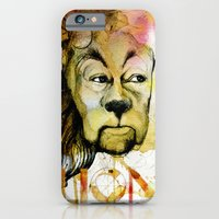 iPhone & iPod Case featuring Cowardly by Michael Scott Murphy