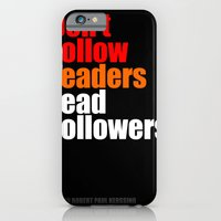 2010 - Don't Follow Lead… iPhone 6 Slim Case