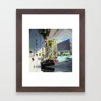 Summer space, smelting selves, simmer shimmers. 05 Framed Art Print