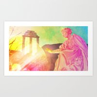 The Discovery Of Technic… Art Print