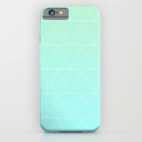 Mint Heaven Triangles iPhone & iPod Case