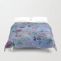 Carpe Diem (flower collection) Duvet Cover