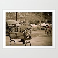 Vicksburg Downtown V Art Print