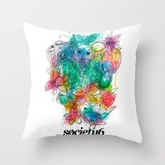 S6 Tee Throw Pillow
