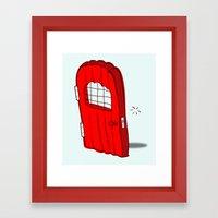 The Mediocre Entrance Of… Framed Art Print