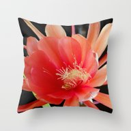 Throw Pillow featuring In The Jungle, The Might… by Oneofacard