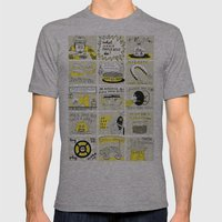 WHAT WOULD CHARLIE KELLY… Mens Fitted Tee Athletic Grey SMALL