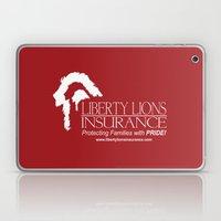 Liberty Lion Insurance Logo Laptop & iPad Skin