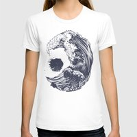 waves T-shirts featuring Swell by Huebucket